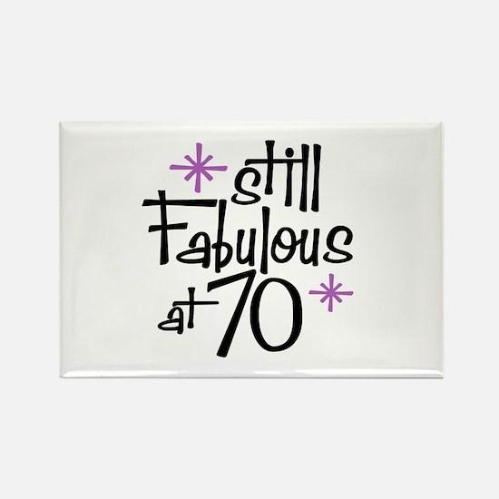 Still Fabulous at 70 Rectangle Magnet