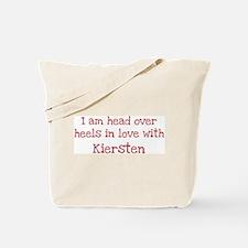 In Love with Kiersten Tote Bag