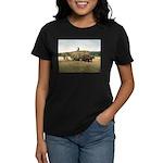 Haying in New England Women's Dark T-Shirt