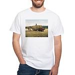 Haying in New England White T-Shirt