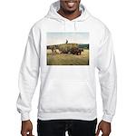 Haying in New England Hooded Sweatshirt