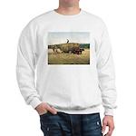 Haying in New England Sweatshirt