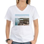 Alexandria Bay New York Women's V-Neck T-Shirt