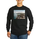 Alexandria Bay New York Long Sleeve Dark T-Shirt