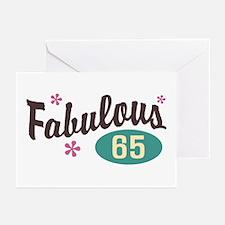 Fabulous 65 Greeting Cards (Pk of 10)