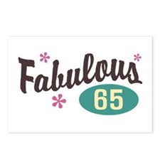 Fabulous 65 Postcards (Package of 8)