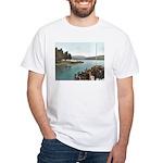 Sagamore Dock New York White T-Shirt