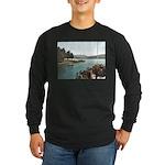 Sagamore Dock New York Long Sleeve Dark T-Shirt
