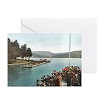 Sagamore Dock New York Greeting Cards (Pk of 20)