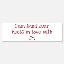In Love with Jc Bumper Car Car Sticker