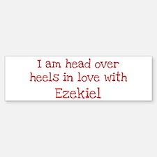 In Love with Ezekiel Bumper Bumper Bumper Sticker