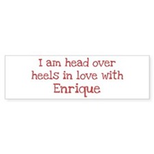 In Love with Enrique Bumper Bumper Stickers