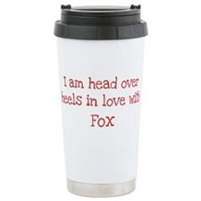 In Love with Fox Travel Mug
