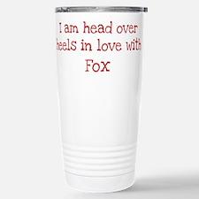In Love with Fox Travel Mug