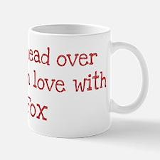 In Love with Fox Mug