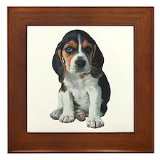 Beagle Framed Tile