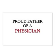 Proud Father Of A PHYSICIAN Postcards (Package of