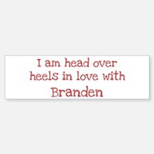 In Love with Branden Bumper Bumper Bumper Sticker