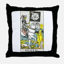 """Death"" Throw Pillow"