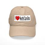I Love North Carolina Cap