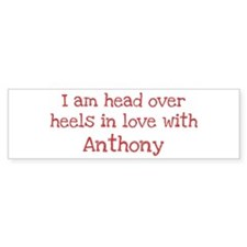 In Love with Anthony Bumper Car Car Sticker