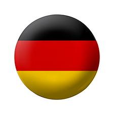 "German flag 3.5"" Button"