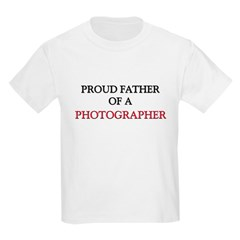 Proud Father Of A PHOTOGRAPHER T-Shirt