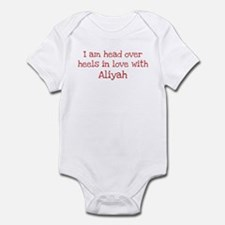 In Love with Aliyah Infant Bodysuit
