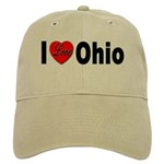 I Love Ohio Cap
