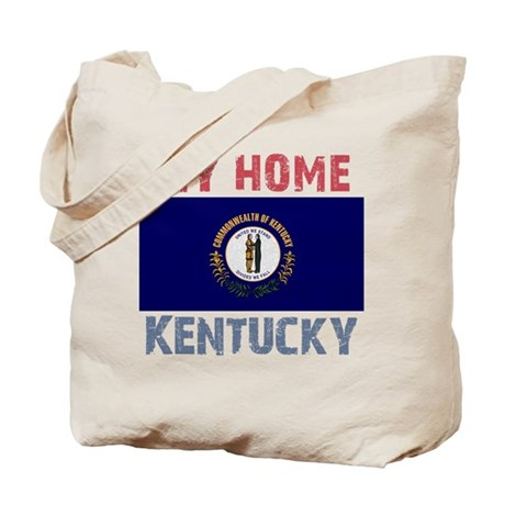 My Home Kentucky Vintage Styl Tote Bag