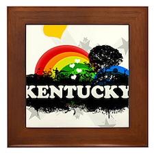 Sweet Fruity Kentucky Framed Tile