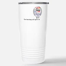 Retired Teacher. Travel Mug