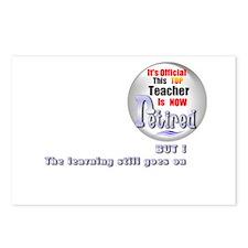 Retired Teacher. Postcards (Package of 8)