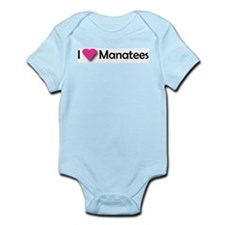 I LUV MANATEES Infant Creeper