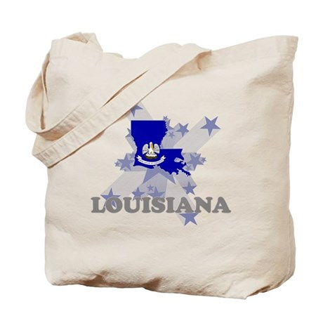 All Star Louisiana Tote Bag