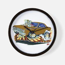 Dodge Dart Brown Car Wall Clock