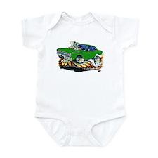 Dodge Dart Green Car Infant Bodysuit