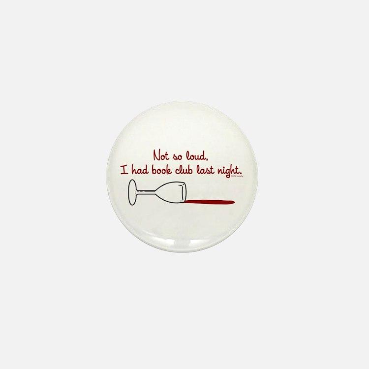 Cute Book club Mini Button