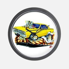 Dodge Dart Yellow Car Wall Clock