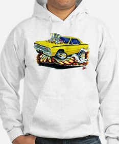 Dodge Dart Yellow Car Hoodie