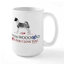 oddFrogg Akita Valentine Mug