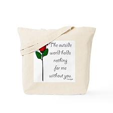 Outside World Twilight Tote Bag
