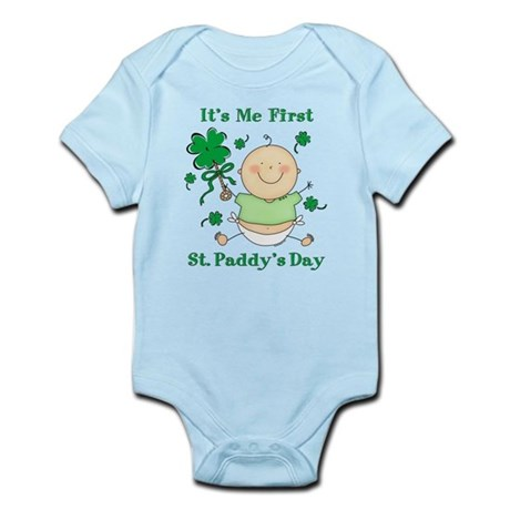 Me 1st St. Paddy's Day Infant Bodysuit