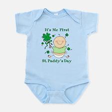 Me 1st St. Paddy's Day Infant Bodysuit