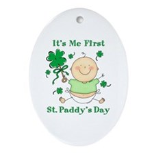 Me 1st St. Paddy's Day Oval Ornament