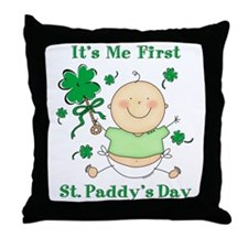 Me 1st St. Paddy's Day Throw Pillow