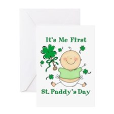 Me 1st St. Paddy's Day Greeting Card