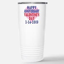 HAPPY ANNIVERSARY V-DAY Travel Mug