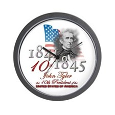 10th President - Wall Clock