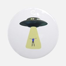 UFO Out of this world Ornament (Round)